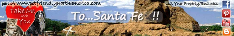 dog friendly santa fe